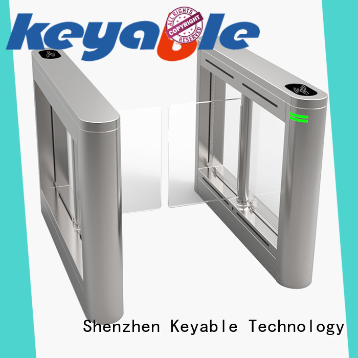 Keyable ticket barrier more buying choices for security check