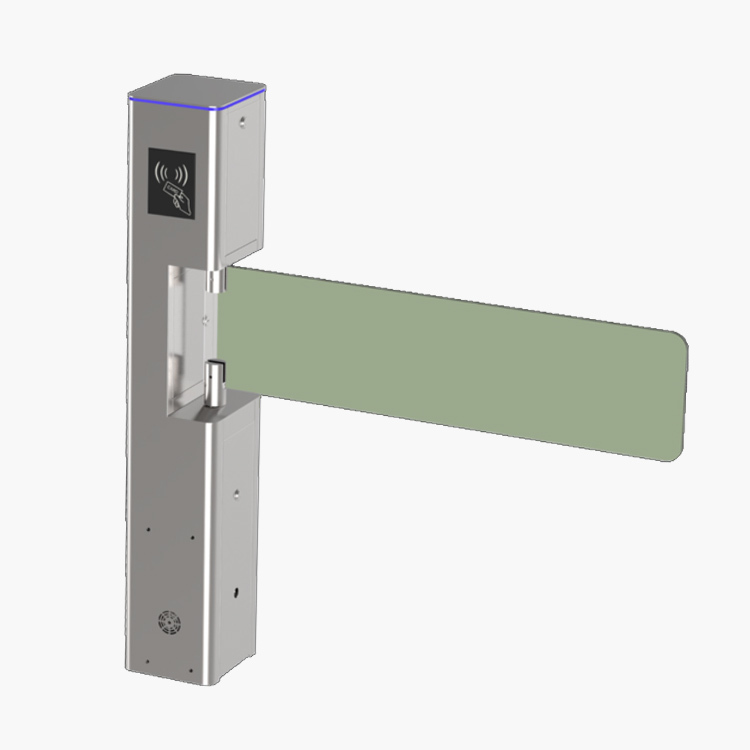air shipping available mini size optical swing barrier gate turnstile factory