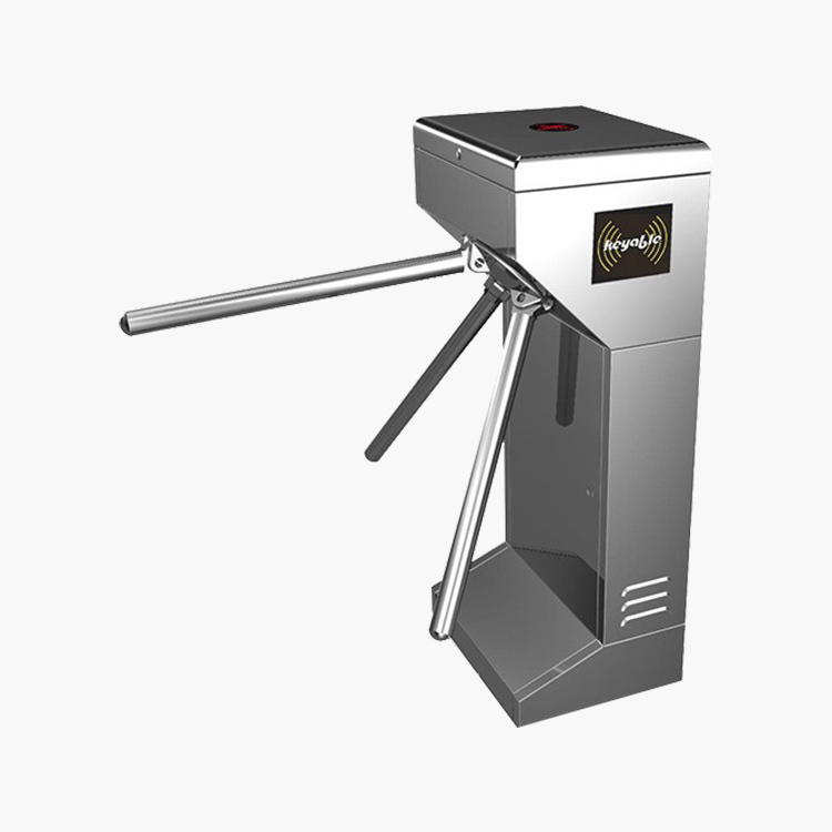 Air shipping available small size solenoid tripod turnstile barrier gate