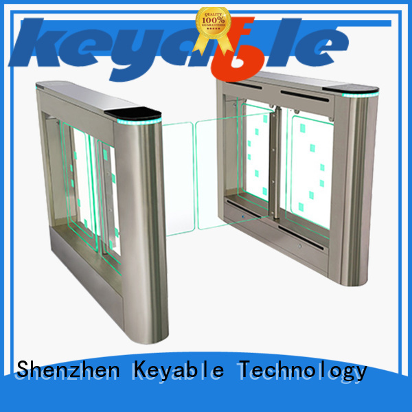 Keyable most popular swing barrier gate more buying choices for pedestrians