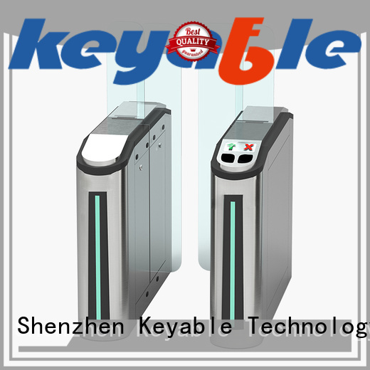 Keyable rich experience turnstile entry factory for security check