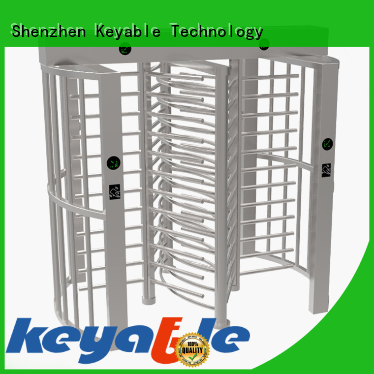 Keyable ISO9001 certified full body turnstile factory for importer