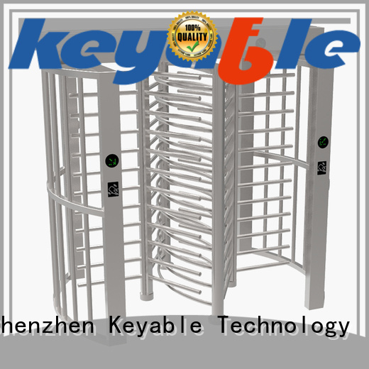 Keyable ISO9001 certified turnstile door factory for security check