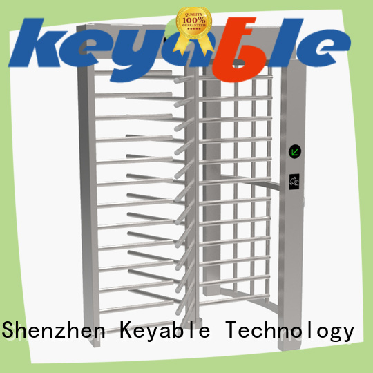 Keyable full height gates factory for distribution