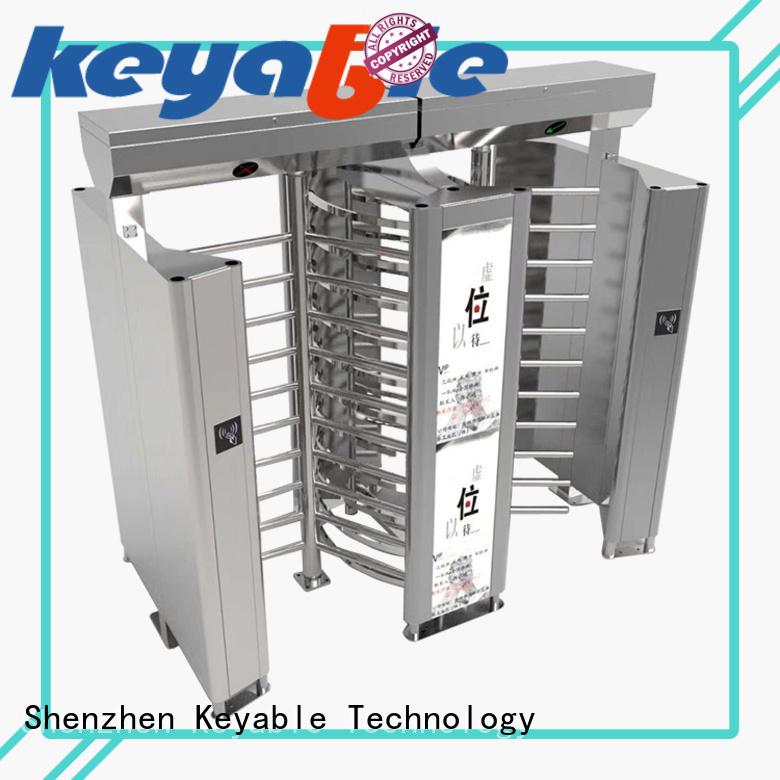 Keyable stadium turnstiles for security check