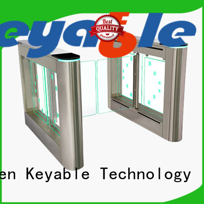 Keyable affordable glass turnstile more buying choices for importer