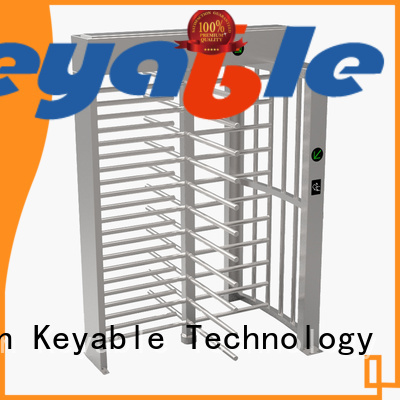 Keyable ISO9001 certified full height gates for security check