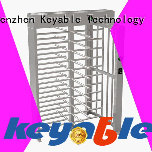Keyable modern full height turnstile for importer