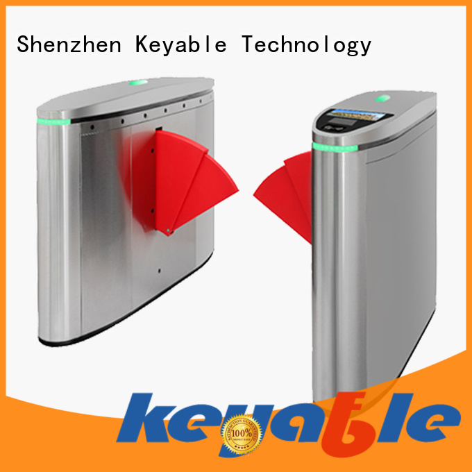 Keyable flap barrier gate factory for sale