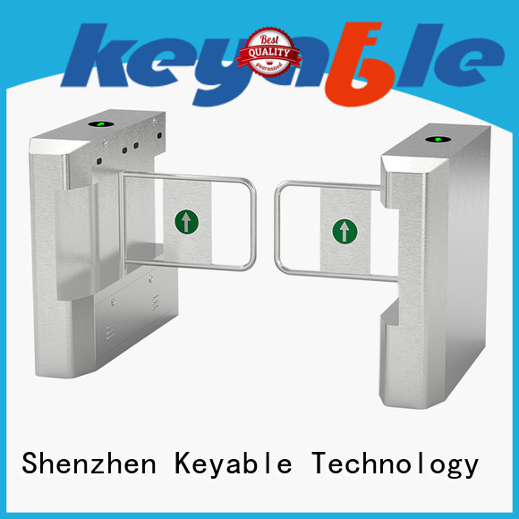 Keyable Keyable glass turnstile more buying choices for security check