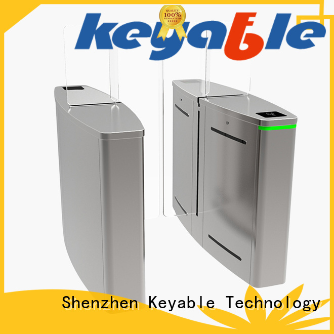 Keyable turnstile entry factory for security check