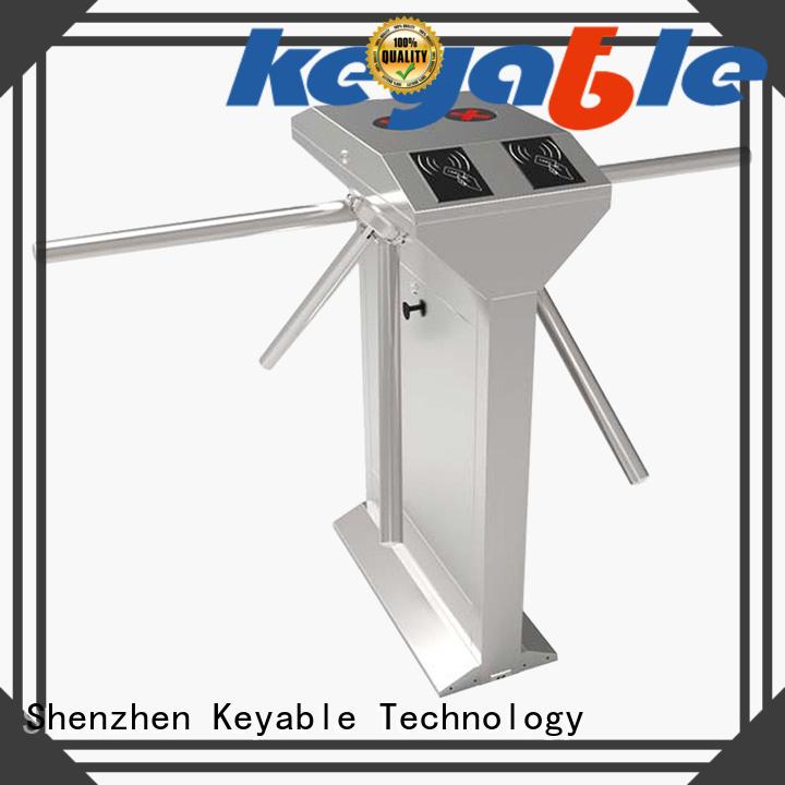 Keyable turnstile door factory for entrance