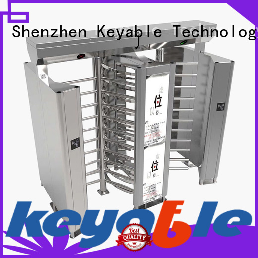 Keyable Keyable full height gates for distribution