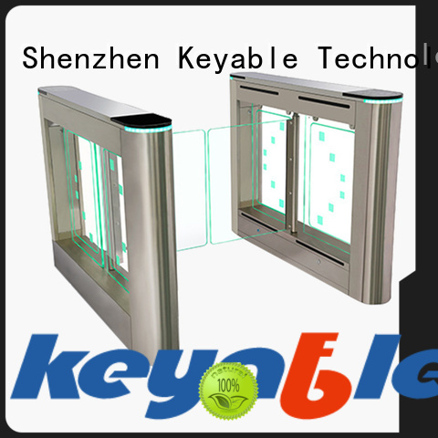Keyable Keyable turnstile entrance exporter for security check