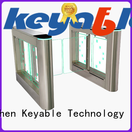 Keyable Keyable swing barrier more buying choices for pedestrians