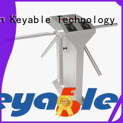 Keyable highly recommend tripod turnstile gate order now for access control