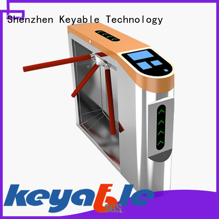 Keyable latest turnstile door order now for access control