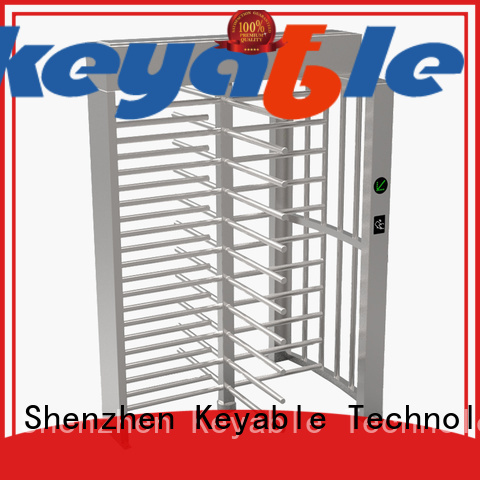 Keyable ISO9001 certified football turnstile for security check
