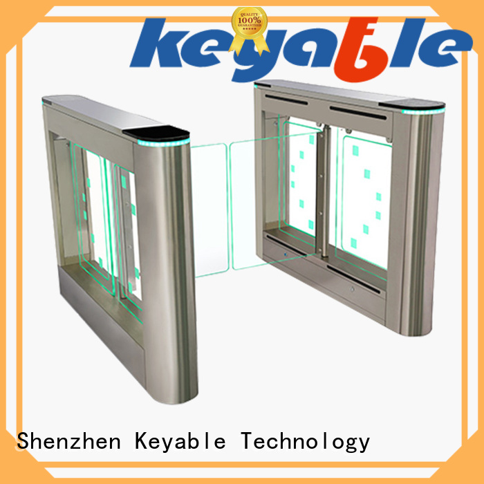 turnstile entrance for pedestrians Keyable