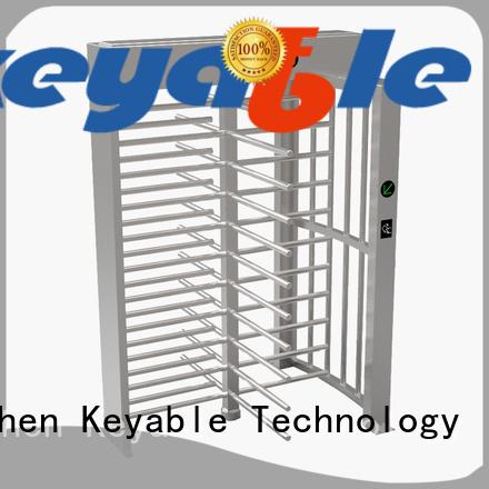 Keyable turnstile door factory for security check
