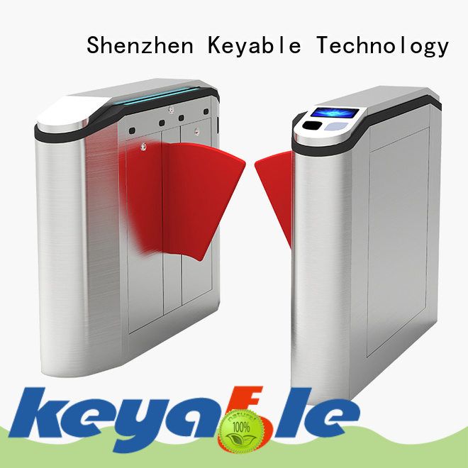 Keyable flap barrier gate factory for security check