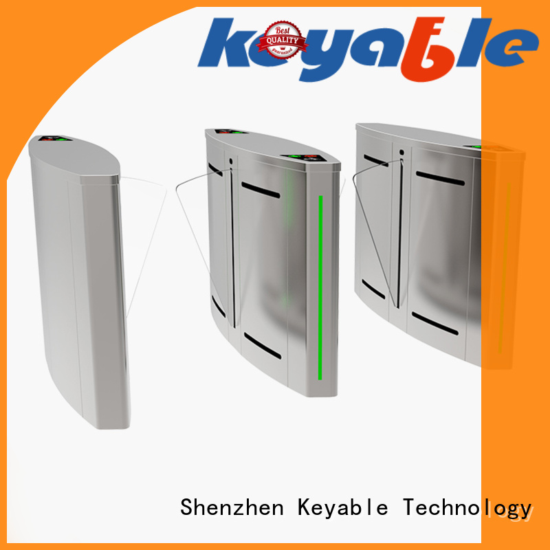 Keyable ticket gate exporter for security check