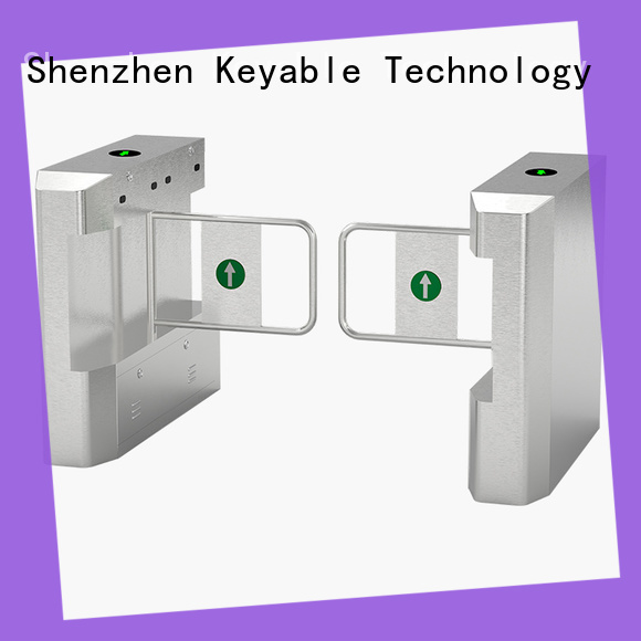 Keyable hot recommended swing barrier more buying choices for pedestrians