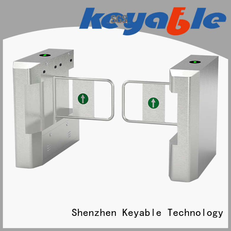 Keyable affordable swing barrier gate exporter for security check