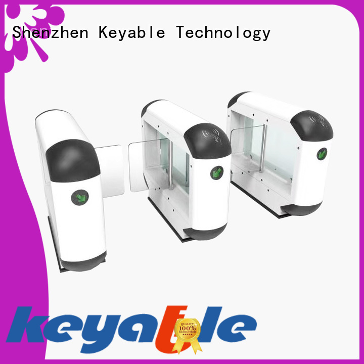 Keyable turnstile barrier more buying choices for pedestrians