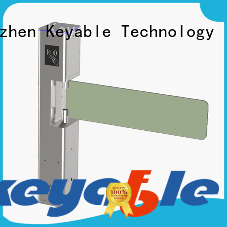 Keyable Keyable access control barriers and gates for security check