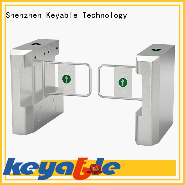 Keyable swing barrier gate manufacturer for pedestrians