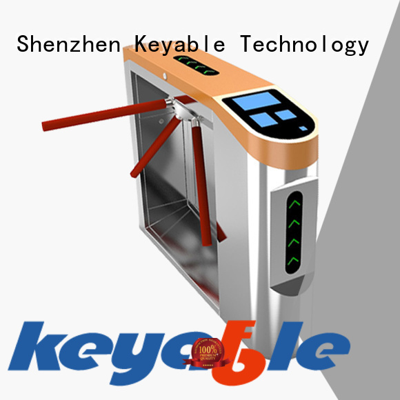 Keyable highly recommend access control turnstile order now for sale