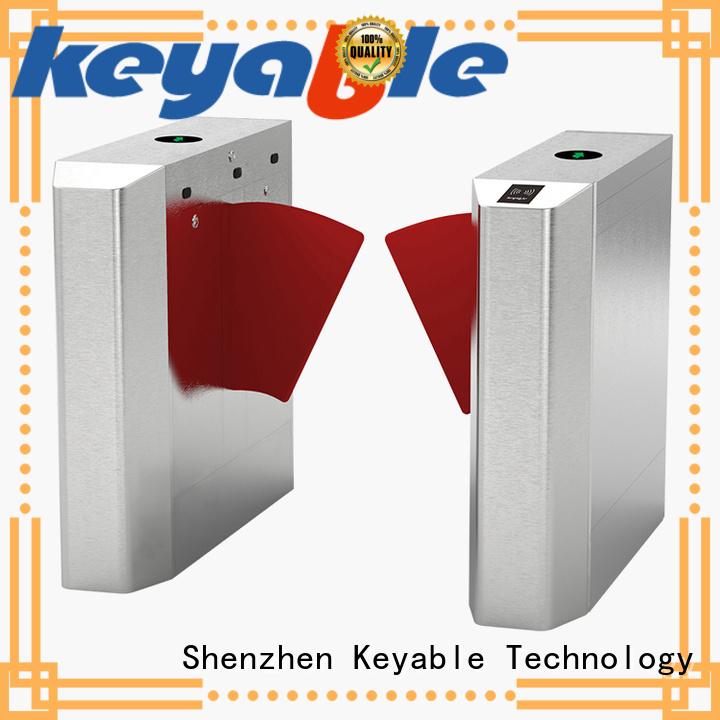 Keyable Keyable flap barrier turnstile for importer