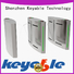Keyable Keyable flap barrier gate exporter for importer