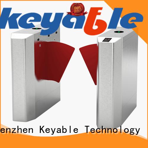 Keyable metro entry gate exporter for importer