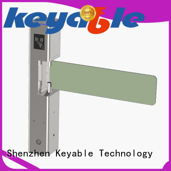 Keyable swing barrier manufacturer for pedestrians