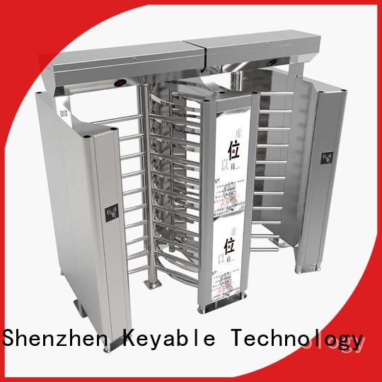 Keyable full height gates factory for distribution
