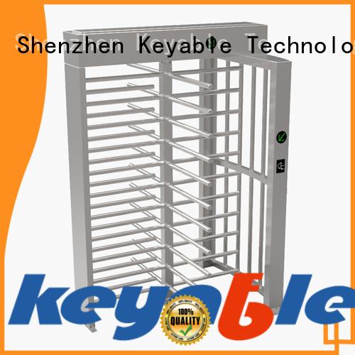 ISO9001 certified mechanical turnstile get latest price for importer Keyable