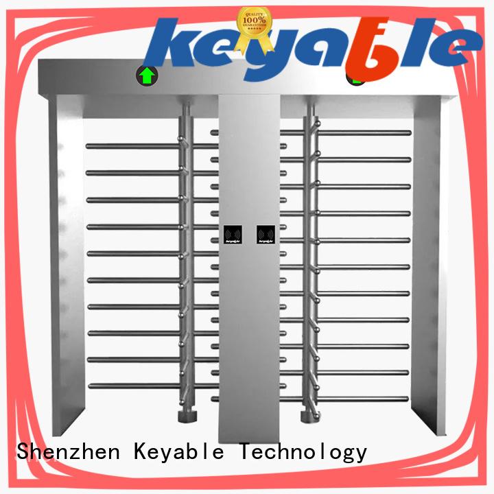 Keyable full body turnstile get latest price for security check