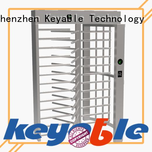 Keyable turnstile door for importer