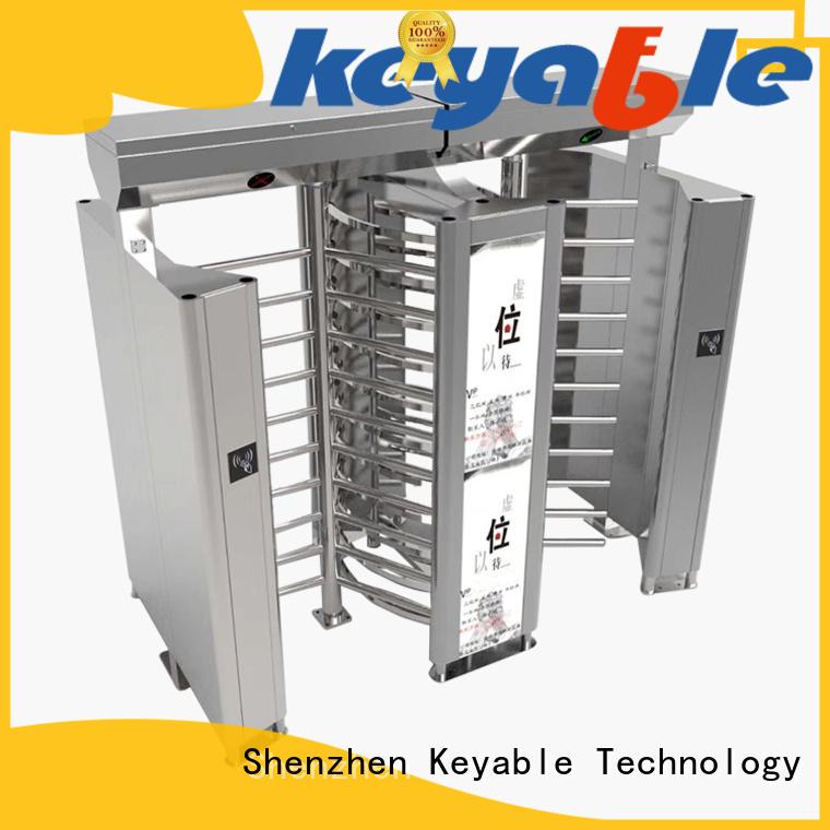Keyable full height turnstile gate manufacturer for importer