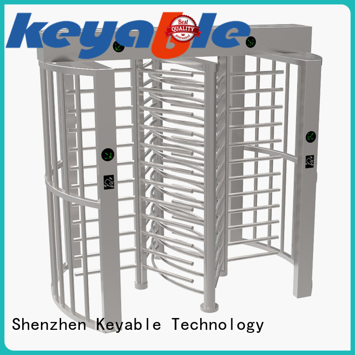 Keyable full height turnstile get latest price for distribution