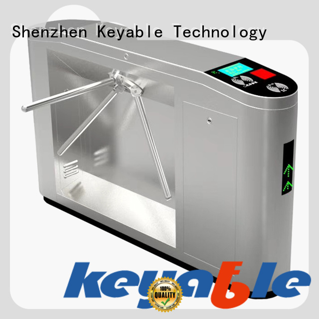 Keyable esd turnstile factory for access control