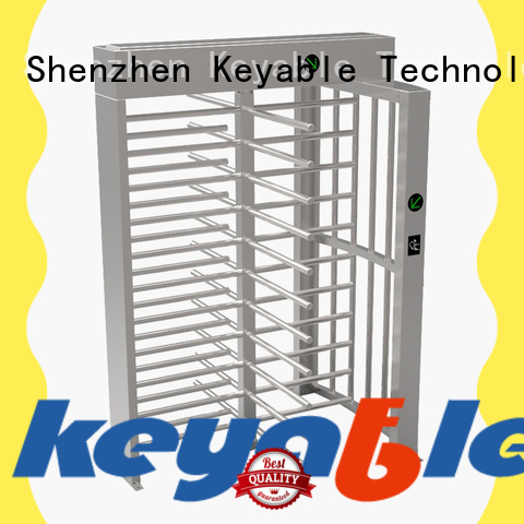 Keyable modern full height turnstile gate manufacturer for distribution