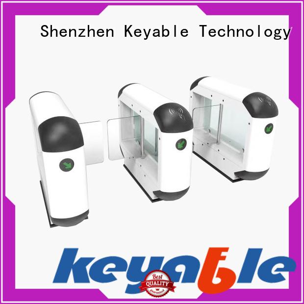 Keyable entrance turnstile exporter for pedestrians