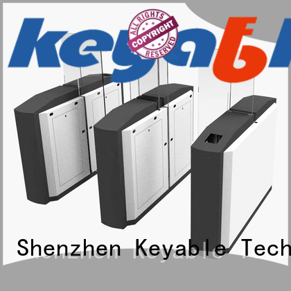 Keyable advanced technology turnstile entry factory for security check