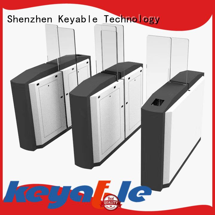 Keyable turnstile entry trade partner for distribution