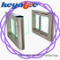 Keyable swing barrier more buying choices for security check
