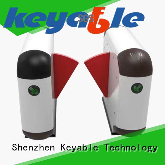 Keyable turnstile entrance exporter for pedestrians