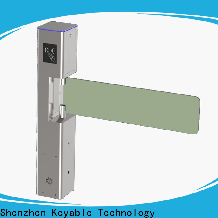 Keyable turnstile barrier manufacturer for importer
